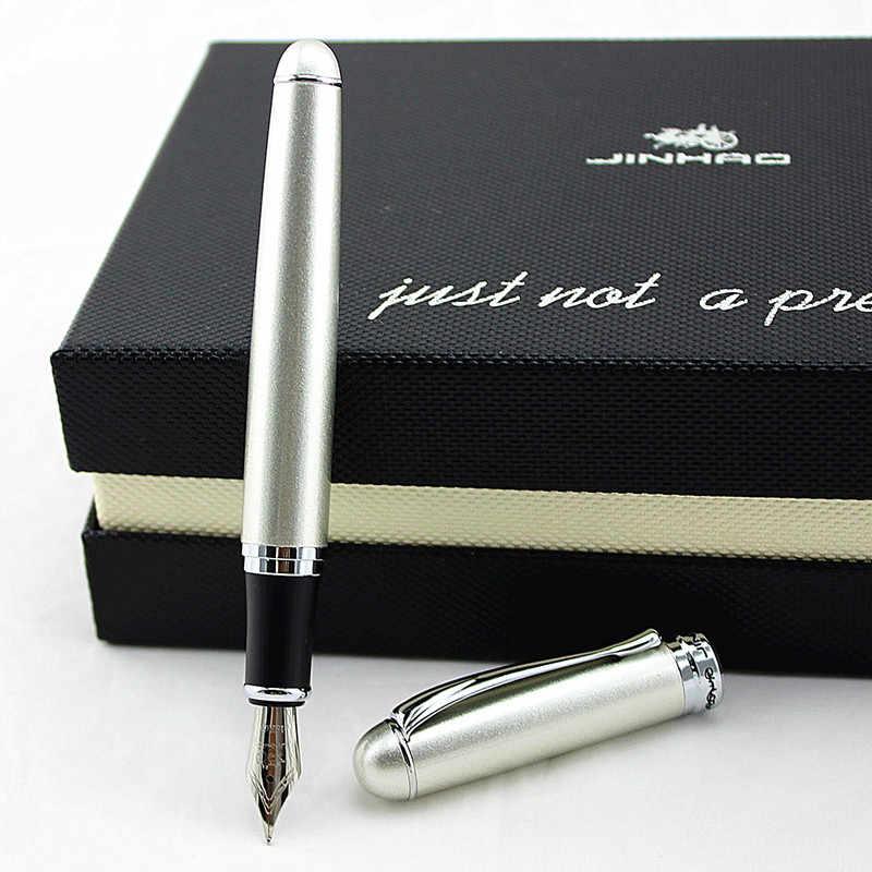 Venda quente jinhao x750 15 cores f nib caneta fonte escritório escola papelaria marca de luxo presente do negócio escrita tinta canetas