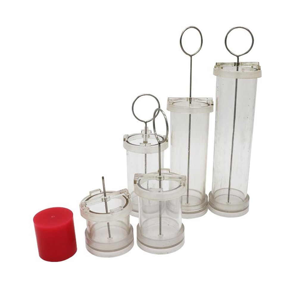 4/6/8/10cm DIY Cylinder Pillar Candle Handmade Craft Making Mold Mould Tool Set