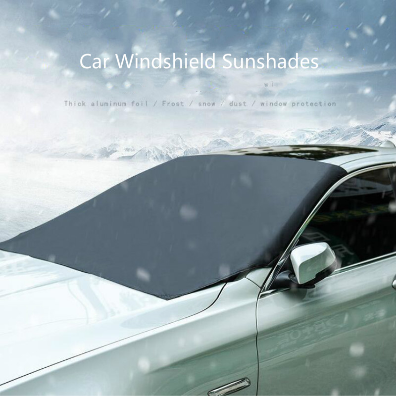 Universal Automobile Magnetic Sunshade Cover Car Windshield Snow Sun Shade Shield Winter Visor Cover Car Front Windscreen Cover