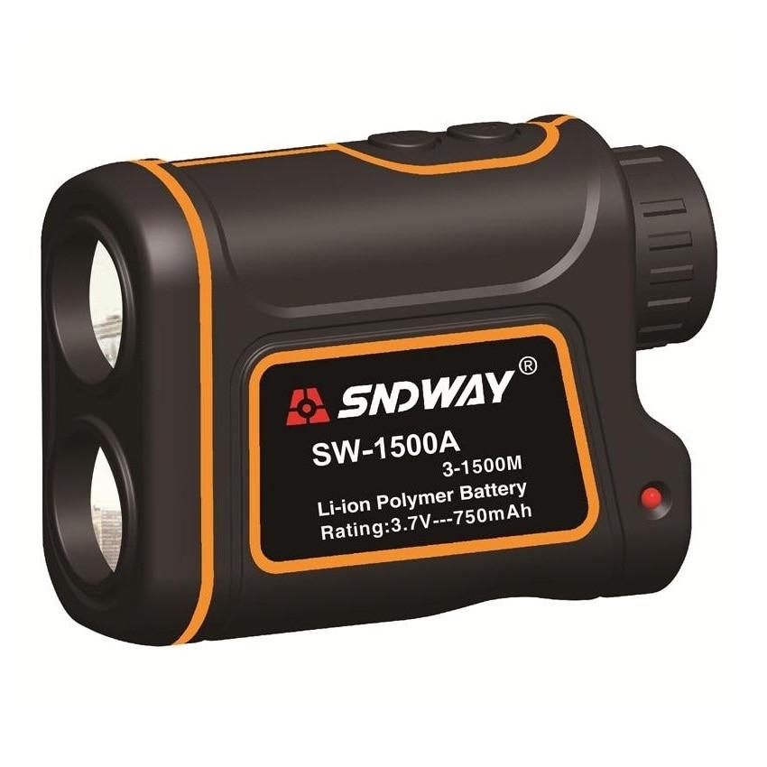 SNDWAY SW-1500A 3 ~ 1500M 7X Monocular-teleskop Laser Winkel Abstand Meter Geschwindigkeit Vermesser Laser-entfernungsmesser Für Golf horserace