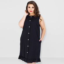В европейском и американском стиле качество большой Размеры платье Цвет без рукавов стиль лето Жира платье mm пляжная одежда производители