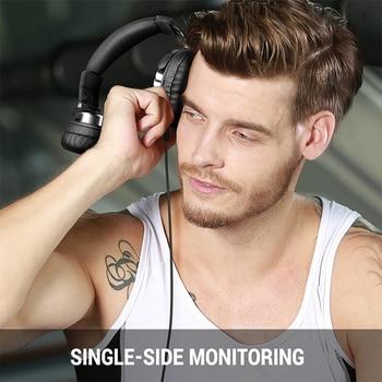 Oneodio Over Ear Headphones Hifi Studio DJ Headphone Wired Monitor Music Gaming Headset Earphone For Phone Computer PC With Mic 3