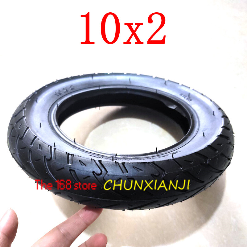 Image 4 - Size 10x2 Tube Tyre Bike  Heavy Duty 10 * 2 Tyre Inner Tube for Bike Tricycle Baby Stroller 3 Wheel Bicycle-in Tyres from Automobiles & Motorcycles