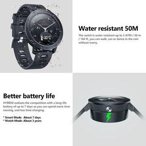 Image 4 - Zeblaze היברידי קצב לב צג לחץ דם Smartwatch נסתרת מגע מסך ספורט מעקב חכם שעון עם הודעות