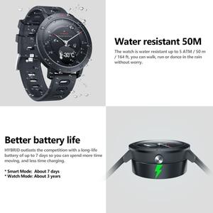Image 3 - Zeblaze hybride Smartwatch fréquence cardiaque tensiomètre montre intelligente suivi de lexercice suivi du sommeil Notifications intelligentes