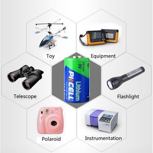 Image 5 - 24Pcs 1Pcs/כרטיס PKCELL CR123A CR17345 1500mAh 3V Li MnO2 עיקרי CR 123a cr123 יבש סוללה עבור מצלמה רפואי ציוד מנורה