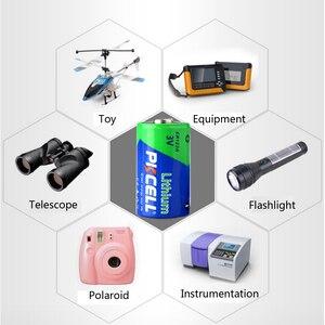 Image 5 - 50 個pkcell 3v CR123Aリチウム電池CR17345 1500mah 3 ボルト一次電池カメラ懐中電灯トーチ