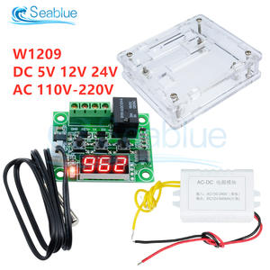 Switch-Module Sensor Temperature-Controller W1209 Digital Thermostat NTC Waterproof 110-220V