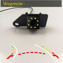HD Wireless Car CCD Rear Camera Fisheye 12 led dynamic Night Vision bracket Parking For Mitsubishi ASX 2011 2012 2013 2014 RVR