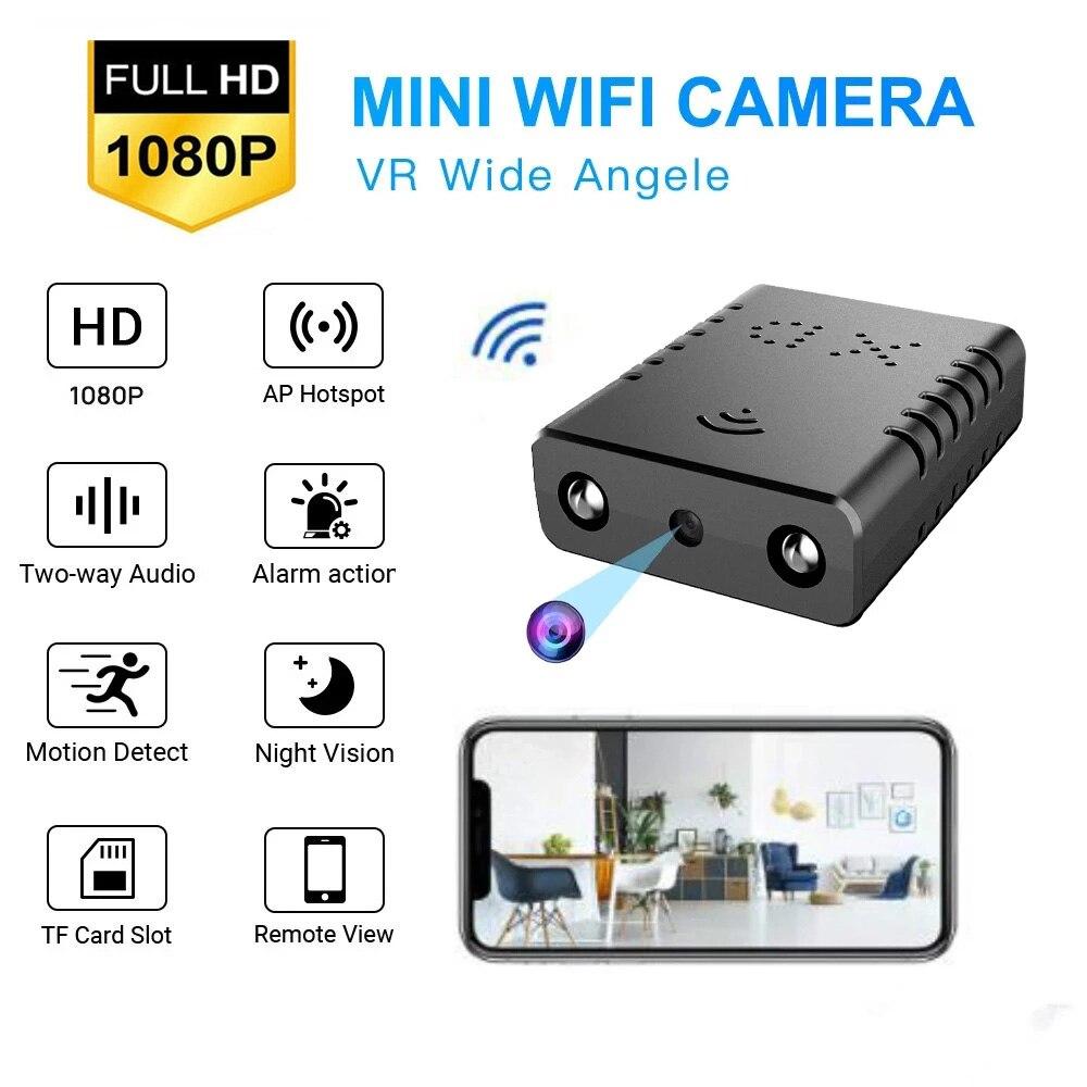 1080P Mini DV WIFI caméra Micra caméra Vision nocturne Micro caméra détection de mouvement Mini DVR caméra de visualisation à distance Mini caméscope XD