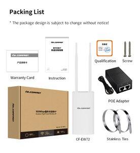 Image 5 - Comfast 300Mbps 1200Mbps 무선 Wifi 중계기 옥외 2.4 & 5.8Ghz 고성능 옥외 방수 증량제 Wifi 대패 안테나 AP