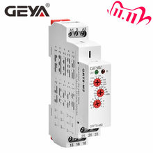 Free Shipping GEYA GRT8-M 16A Multifunction Timer Relay with 10 Function Choices AC DC 12V 24V 220V 230V Time Relay