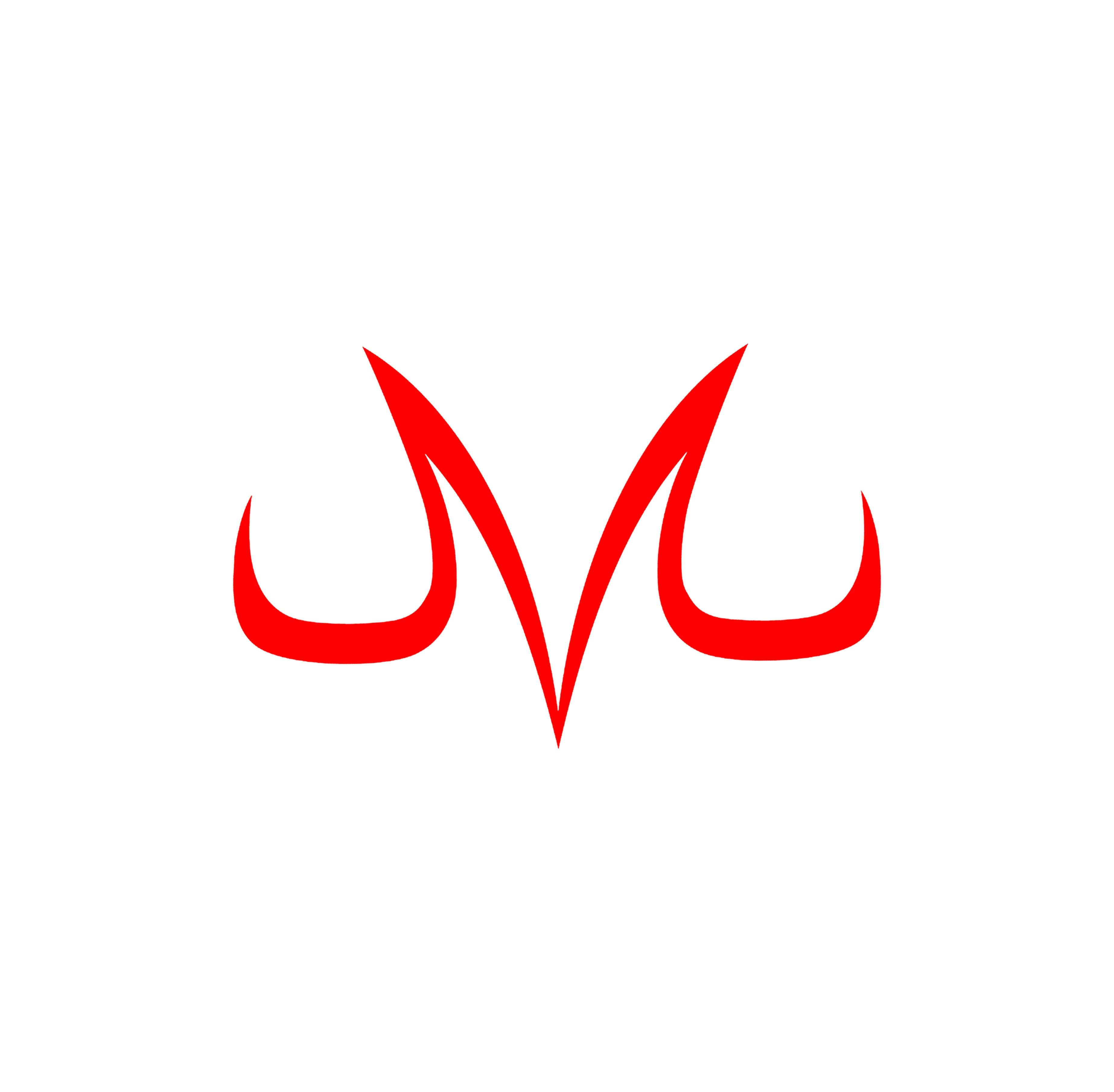 "Vegeta Majin Dragonball Zหน้าต่างไวนิลDecalสติกเกอร์6 ""กว้าง"