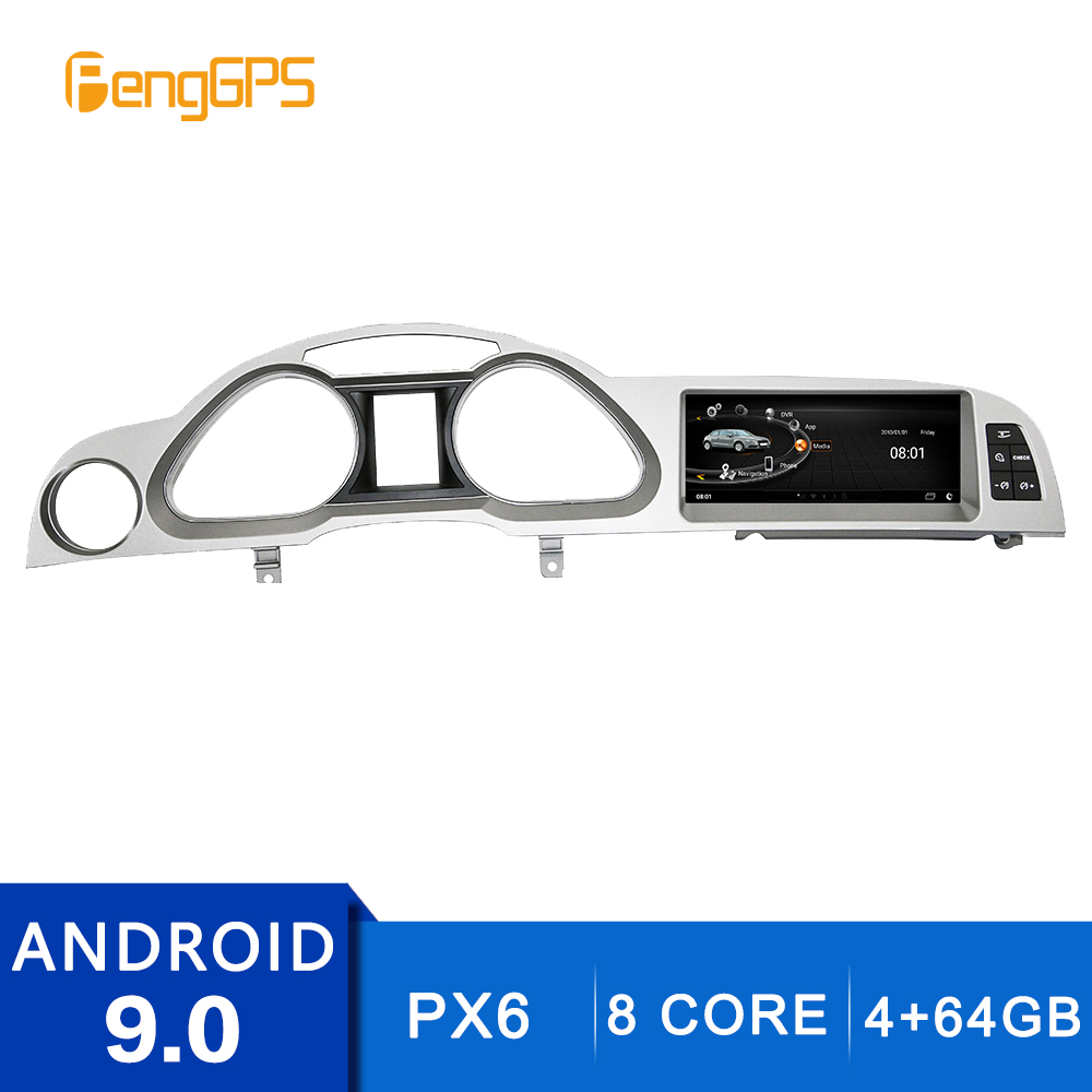 1920*720 HD Android 9.0 for <font><b>Audi</b></font> <font><b>A6</b></font> 2005-2011 <font><b>GPS</b></font> <font><b>Navigation</b></font> Car DVD Player FM/AM Radio Multimedia 8 Core 4G+64G 4K Headunit image