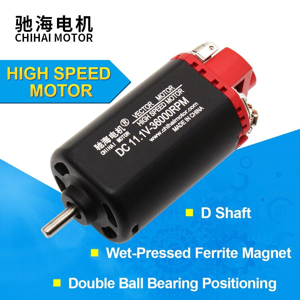 chihai motor CHF 480S 11360 Ver.2 Gearbox 11.1V 36000RPM Toy Upgrade Motor For LeHui Vector V2 Gel Ball Blaster Gun DC Motor    - AliExpress