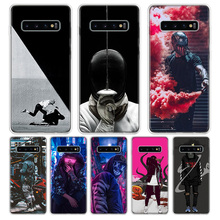 Street Brand Boy Girls Phone Case For Samsung Galaxy S9 S8  J4 J6 Plus + J8 2018 S7 S6 Edge Note 9 8 Soft Silicone Phone Cover