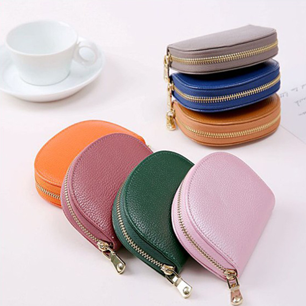 Exquisite Buckle Coin Purses Funny Bees And Sunfolwer Mini Wallet Key Card Holder Purse for Women