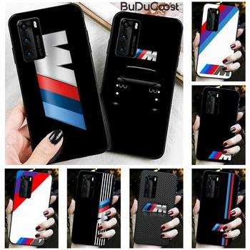Diseny Top car BMW Phone Case for Huawei P30 P20 Mate 20 Pro Lite Smart Y9 prime 2019 image