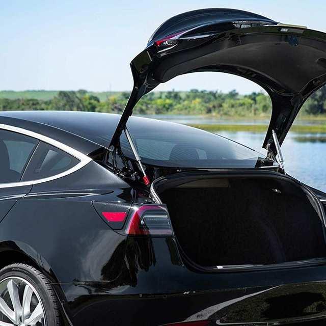 Autoleader 2Pcs/Set Automatic Car Rear Trunk Lift Support Rod Pneumatic Struts Kit Auto Replacement Parts For Tesla Model 3 2019