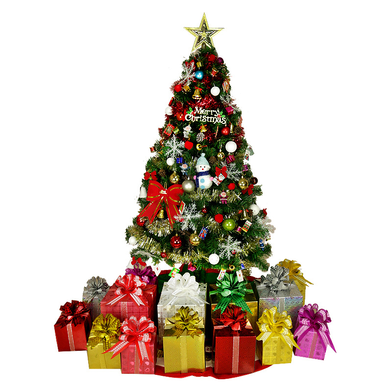 Luxury Encrypted Optical Fiber Christmas Tree LED Colorful Luminous Christmas Tree Package Merry Christmas Decoration - 3