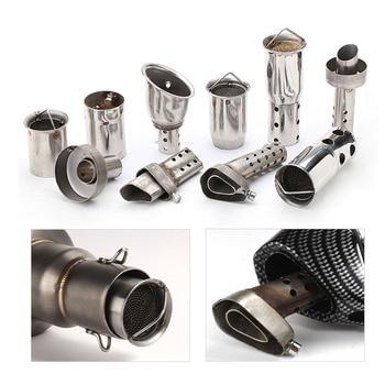 For 51mm 60mm Inlet Motorcycle Exhaust Muffler DB Killer Movable DB Killer Silencer Noise Sound Eliminator FREE SHIPPING muffler for wacker bs500 bs600 bs700 bs50 2 bs60 2 bs600oi bs500oi bs700oi bs50 2i bs70 2i free shipping exhaust silencer