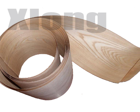 2Pieces/Lot Length: 2.5meters Thickness:0.25mm  Width: 15cm Natural Wood Ash Veneer Speaker  Leather Hand Solid Wood