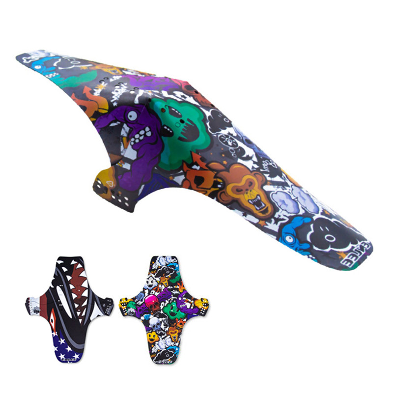MTB Road <font><b>Bike</b></font> Mud Flaps Cycling Bicycle Wings Front Bicycle Mudguard For Mountain <font><b>Bike</b></font> <font><b>Fenders</b></font> Bicycle <font><b>Fender</b></font> 8 image