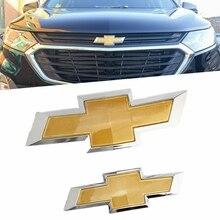 Autocollant de calandre avant 3D, Badge de coffre arrière pour Chevrolet Cruze Spark Aveo Lova Epica, accessoires de décoration automobile
