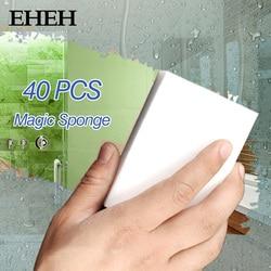 20/40/100 PCS magia skompresowana gąbka do wycierania Cleaner akcesoria kuchenne narzędzie gąbka z melaminy szczotka do mycia naczyń czyszczenie Gąbki i zmywaki Dom i ogród -