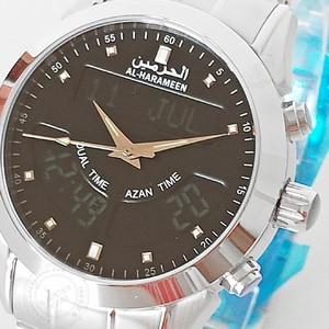 Image 2 - Müslüman ezan İzle 6102 WA 10 32mm paslanmaz çelik otomatik cami namaz saati tüm müslüman arkadaşı