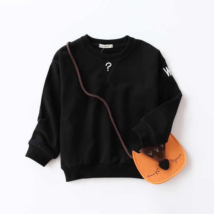 가을 새로운 스웨터 만화 스포츠 소년 스웨터 어린이 긴 소매 머리 여자 코트