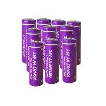 10 個 3.6 v ER14505 14505 2400 1800mah の単三 LiSCLO2 バッテリー優れた LR6 R6P 1.5 v 電池 gps のトラッキングカメラメモリバックアップ