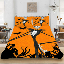 Bedding set Bedclothes Include Duvet Cover Pillowcase Print Home Textile Bed Linens Halloween Fashion Winter Soft King-Full Size