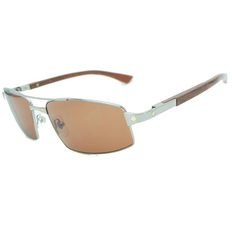 Wooden Sunglasses Luxury Brand Designer Carter Mens Sun Glasses Metal Square Man Driving Shade Eyewear Outdoor
