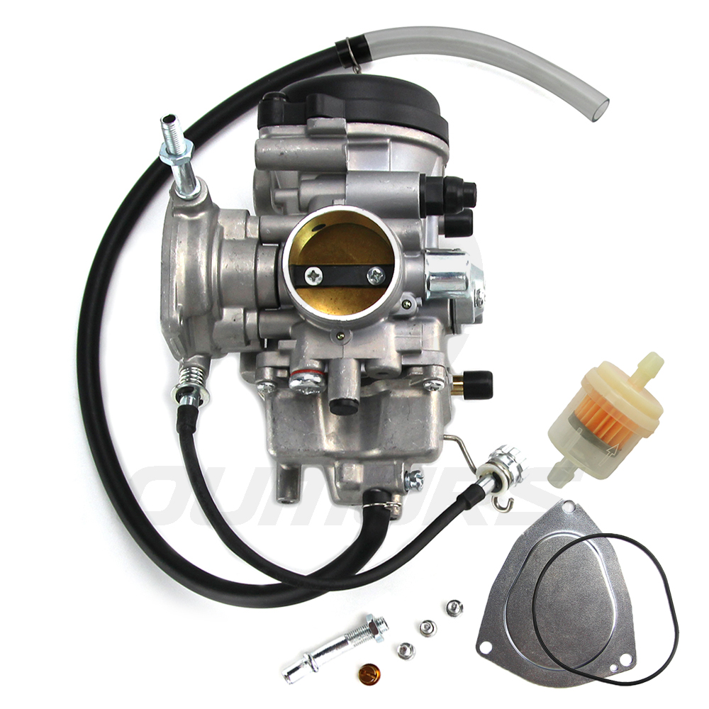 Bruin 350 Parts Carburetor Oil//Air Filer for Yamaha GRIZZLY 350 YFM 350 YFM350 2004 2005 2006 2007 2008 2009 2010 2011 2x4 4x4 Carb NEW
