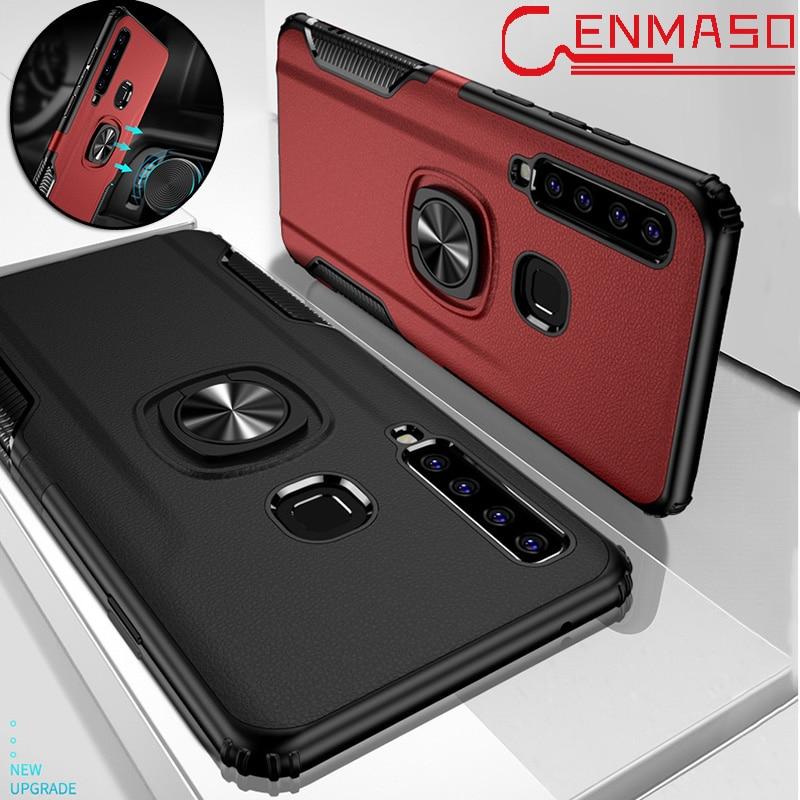 Чехол для Samsung A9 2018, магнитный автомобильный держатель для Samsung Galaxy A9 A5 A7 A8 A6 plus 2018 A9 Star Pro, противоударный бронированный чехол-накладка