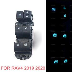 Image 2 - Interrupteurs électriques pour fenêtre, rétroéclairage gauche, pour Toyota RAV4 RAV 4 Corolla LEVIN Wildlander, LED, 2019, 2020