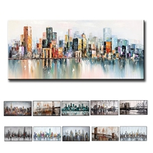 New Design  Modern African Women Oil Painting Living Room Wall Pictures Large Canvas Art Figure No Framed
