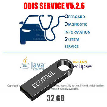 VAG Offboard Diagnostic Software ODIS Service ODIS-S V5.26 with Installation Video in 32GB USB Flash Drive for VAS 5054A 6154