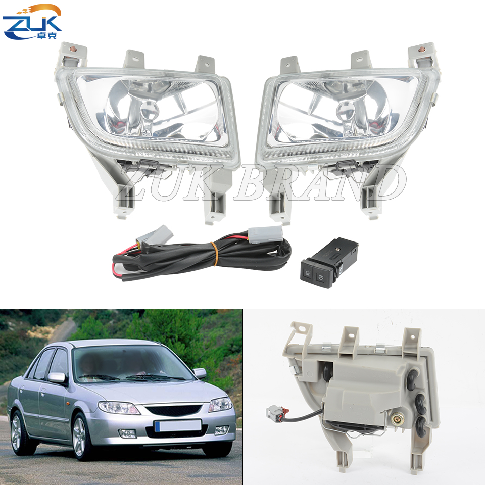 [SCHEMATICS_4PO]  Front Bumper Fog Lamp Fog Light Bulb Cable Wire Harness Switch Set  Addtitional Kit For Mazda 323 Familia Protege BJ 1998 2003 Car Light  Assembly  - AliExpress   Protege Fog Light Wiring Harness      AliExpress