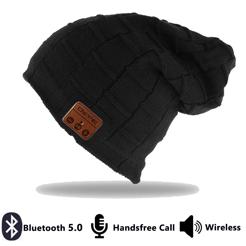 Make Your Life Bluetooth Beanie Snowboard Hat with Removable Wireless Headset Headphone Earphone Cap Speaker Mic for Outdoor Skiing Running Music Tech Birthday