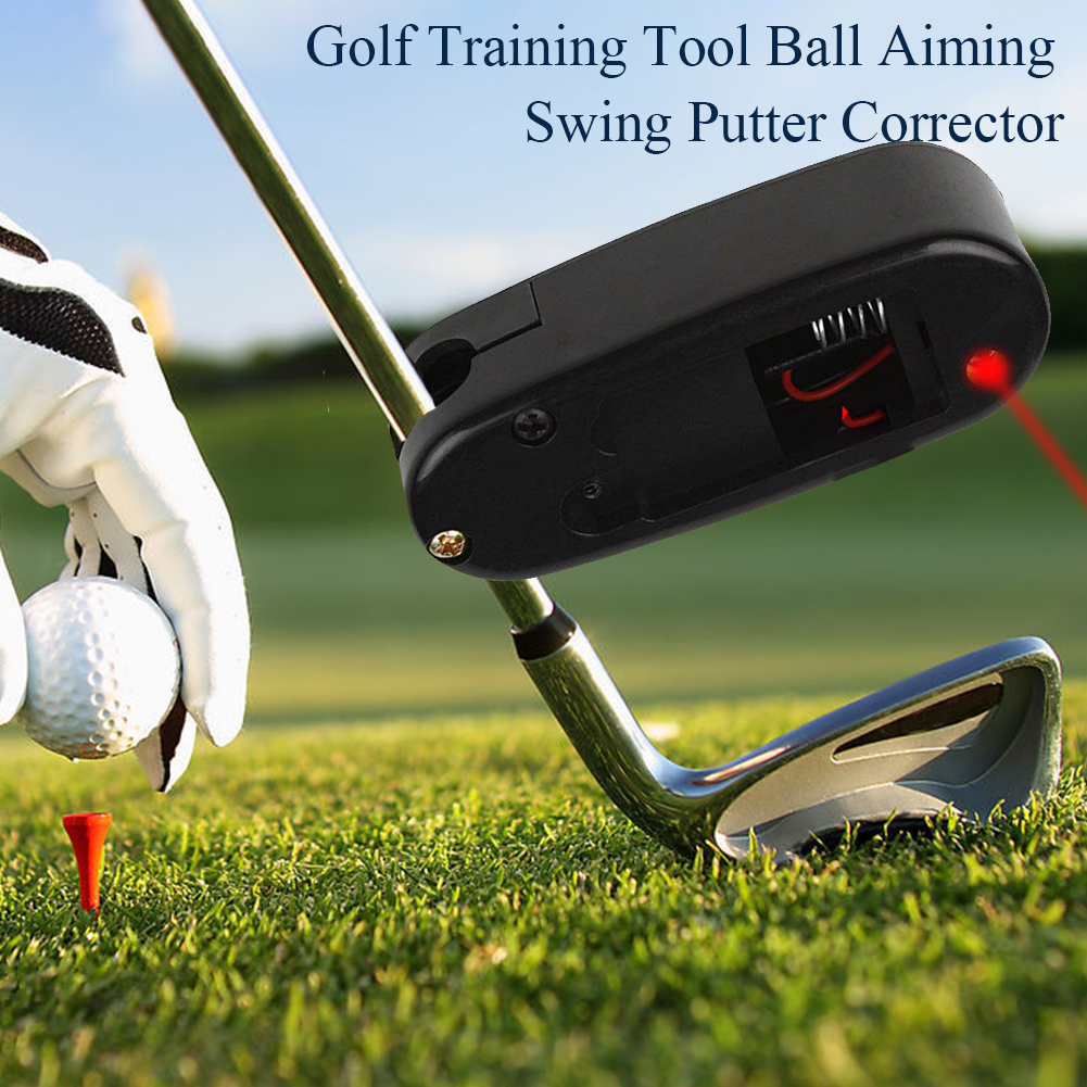 Accessories Sports Improve Practice Smart Putter Corrector Line Outdoor Ball Aiming Swing Golf Training Tool Aid Sight Pointer