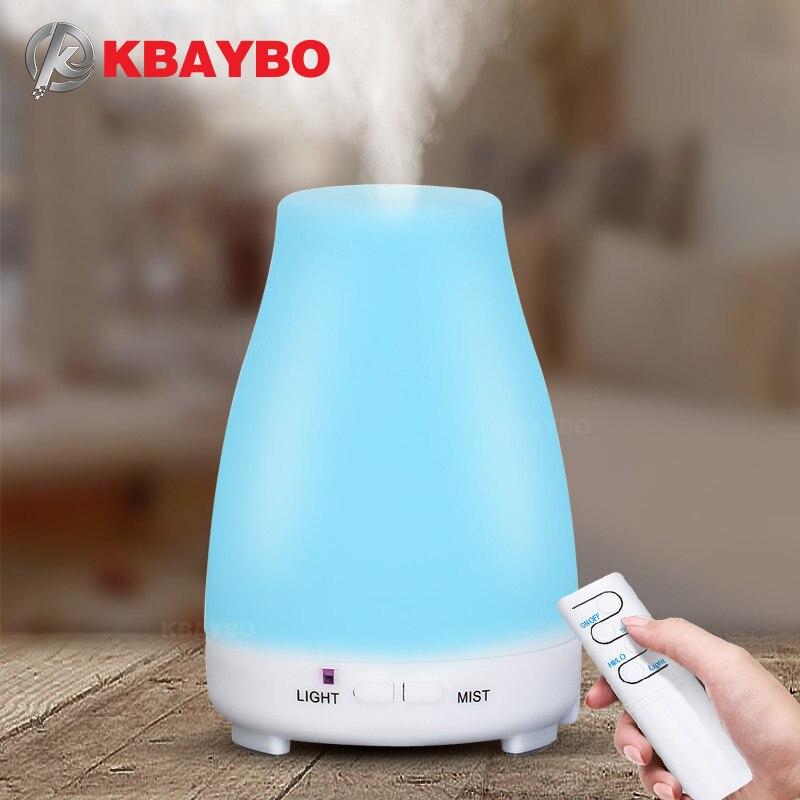 Kbaybo 200ml aroma difusor de óleo essencial umidificador ar ultra sônico aromaterapia fabricante névoa fria fogger para escritório em casa e bebê