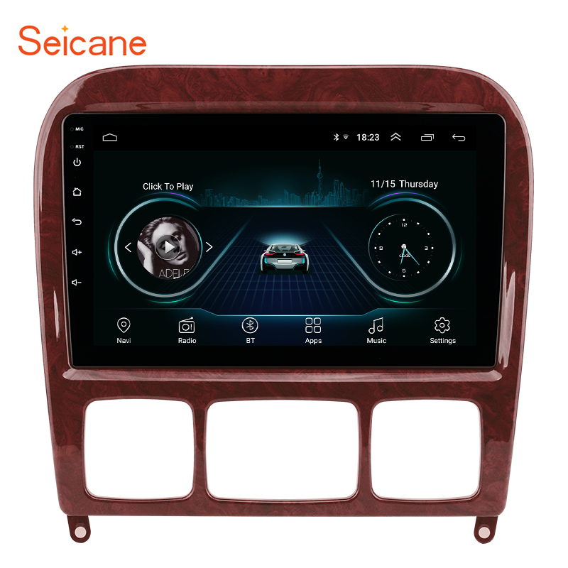 Seicane 2din Android 8.1 Car Multimedia Player <font><b>for</b></font> 1998-2005 <font><b>Mercedes</b></font> Benz S Class W220 S280 S320 S350 S400 S430 <font><b>S500</b></font> S600 AMG image