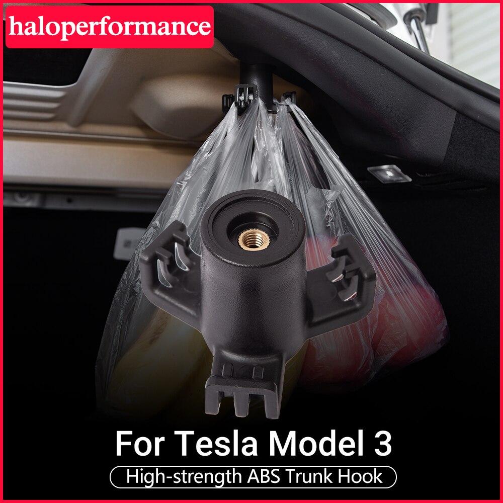 Model3 Car Rear Trunk Hook For Tesla Model 3 Accessories Heavy Duty Bearing Functional Hooks Fastener Clip Car Accessories 2020