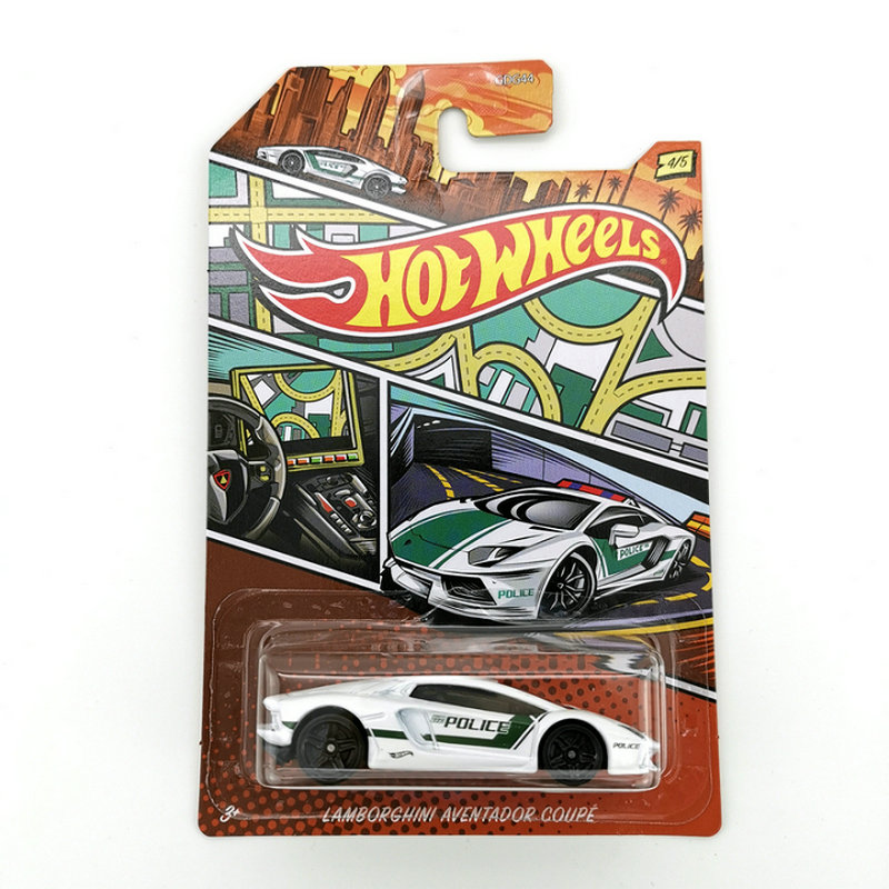 Hot Wheels Car 1:64 LAMBORGHINI AVENTADOR C Collector Edition Metal Diecast Cars Collection Kids Toys Vehicle For Christmas Gift
