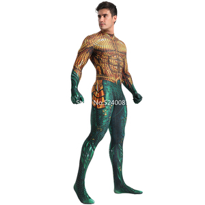 Image 2 - Halloween Men Cosplay Costume Zentai Bodysuit Jumpsuit Carnival Muscle Outfits