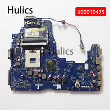 Hulics Original For Toshiba Satellite A660 A665 Series Laptop Motherboard K000104250 NWQAA LA-6061P HM55 DDR3(China)