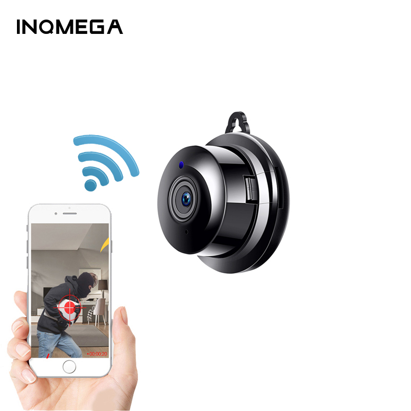 INQMEGA Mini Wireless  IP Camera IR Night Vision WIFI Micro Camera Home Security Surveillance WiFi Baby Monitor Camera