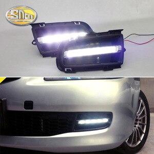 Дневные ходовые огни для Mazda 6 2006 2007 2008 2009, светодиодный противотуманный фонарь DRL, фары для вождения, аксессуары для переднего бампера